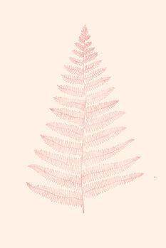 Ilustração Botanica Minimalistica Rouge