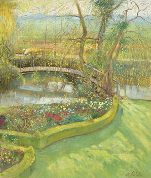 Fine Art Print Bridge Over the Willow, Bedfield