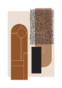 Illustration Brown & Beige