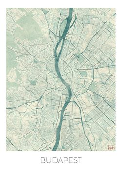 Map Budapest