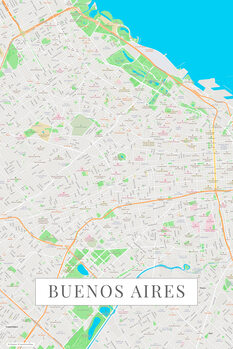 Map Buenos Aires color