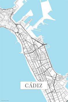Map Cadiz white