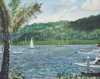 Taidejuliste Cairns, Australia,1998,