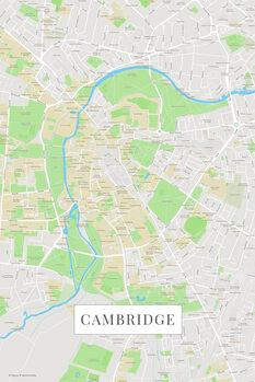 Map Cambridge color