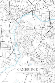 Map Cambridge white