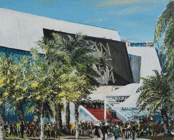 Reprodução do quadro Cannes 2014, 2014,