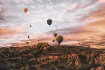 Art Photography Cappodocia Hot Air Balloon