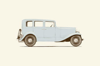 Fine Art Print Car of the 30s