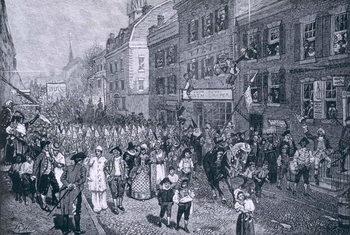 Reprodução do quadro Carnival at Philadelphia