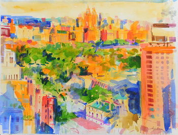 Fine Art Print Central Park from The Carlyle