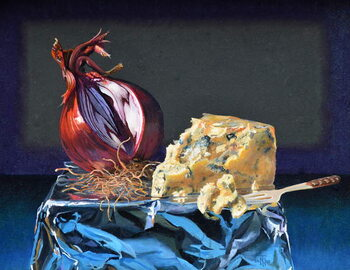 Fine Art Print Cheese and Onion, 2020