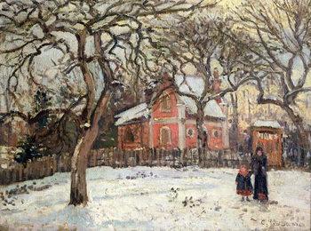 Fine Art Print Chestnut Trees at Louveciennes, c.1871-2