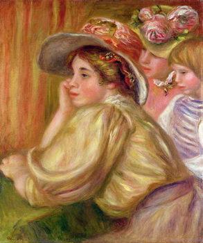 Reprodução do quadro Coco and the two servants, 1910