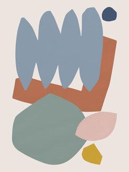 Illustration Collage Pastel II