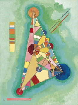 Fine Art Print Colorful in the triangle