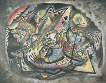 Taidejuliste Composition: The Grey Oval, 1917