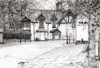Reprodução do quadro Condemned building Prestbury, 2009,