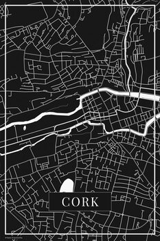 Map Cork black