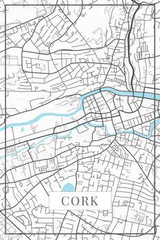 Map Cork white