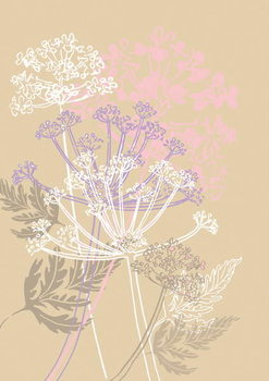 Taidejuliste Cow Parsley, 2013