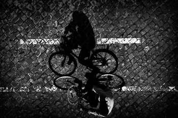 Art Photography Cycling with Dad...