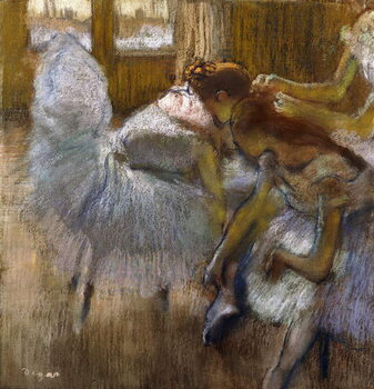 Fine Art Print Dancers at Rest, c.1885