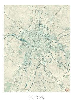 Map Dijon