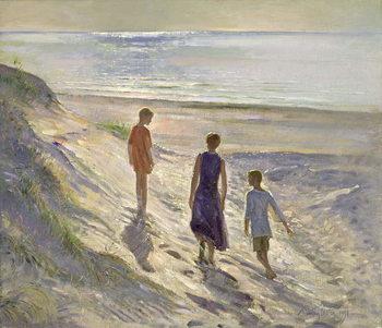 Reprodução do quadro Down to the Sea, 1994
