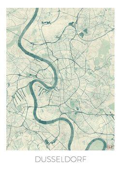 Mapa Dusseldorf