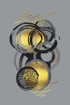 Illustration Dynamic Art No. 1 gold - Life Stages