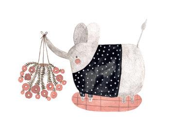 Illustration Elephants
