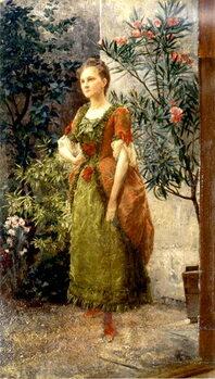 Taidejuliste Emilie Floge, c.1892