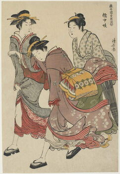 "Fine Art Print ""Entertainers of Tachibana-cho"", 1782"