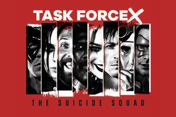 Impressão de arte Esquadrão Suicida 2 - Task force X