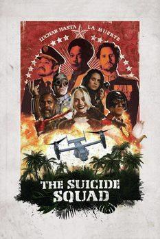 Poster Esquadrão Suicida 2 - Teatral