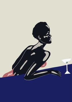 Fine Art Print Evening Drink, 2016,