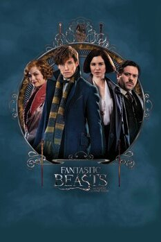 Poster Fantastic Beasts - Main characters