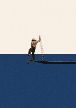 Ilustração Fishing for compliments2