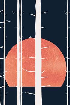 Illustration Forest Fairytales BLEU