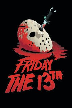Art Poster Friday the 13th - Blockbuster