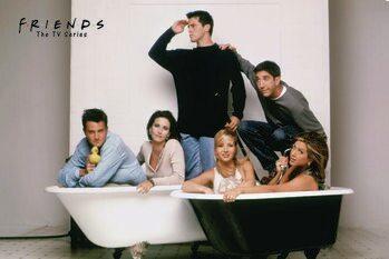 Art Poster Friends - Bath
