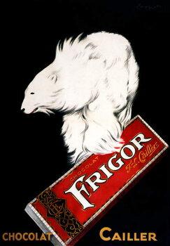 Fine Art Print Frigor Chocolate Poster by Leonetto Cappiello