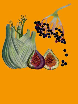 Fine Art Print Fruit & veggies vegetables 2020