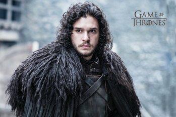 Art Poster Game of Thrones  - John Snow