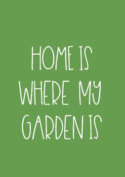Illustration Garden green