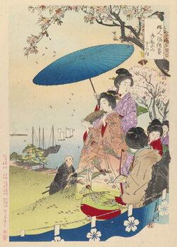 Fine Art Print Geisha in Springtime