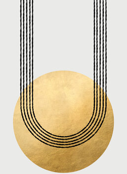 Illustration Gold balanced