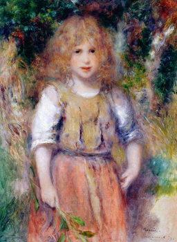 Reprodução do quadro Gypsy Girl, 1879