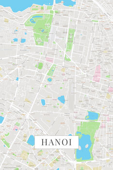 Map Hanoi color
