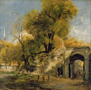 Fine Art Print Harnham Gate